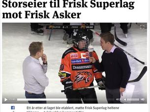 Se kampen mellom Frisk Superlag og Frisk Asker a-lag