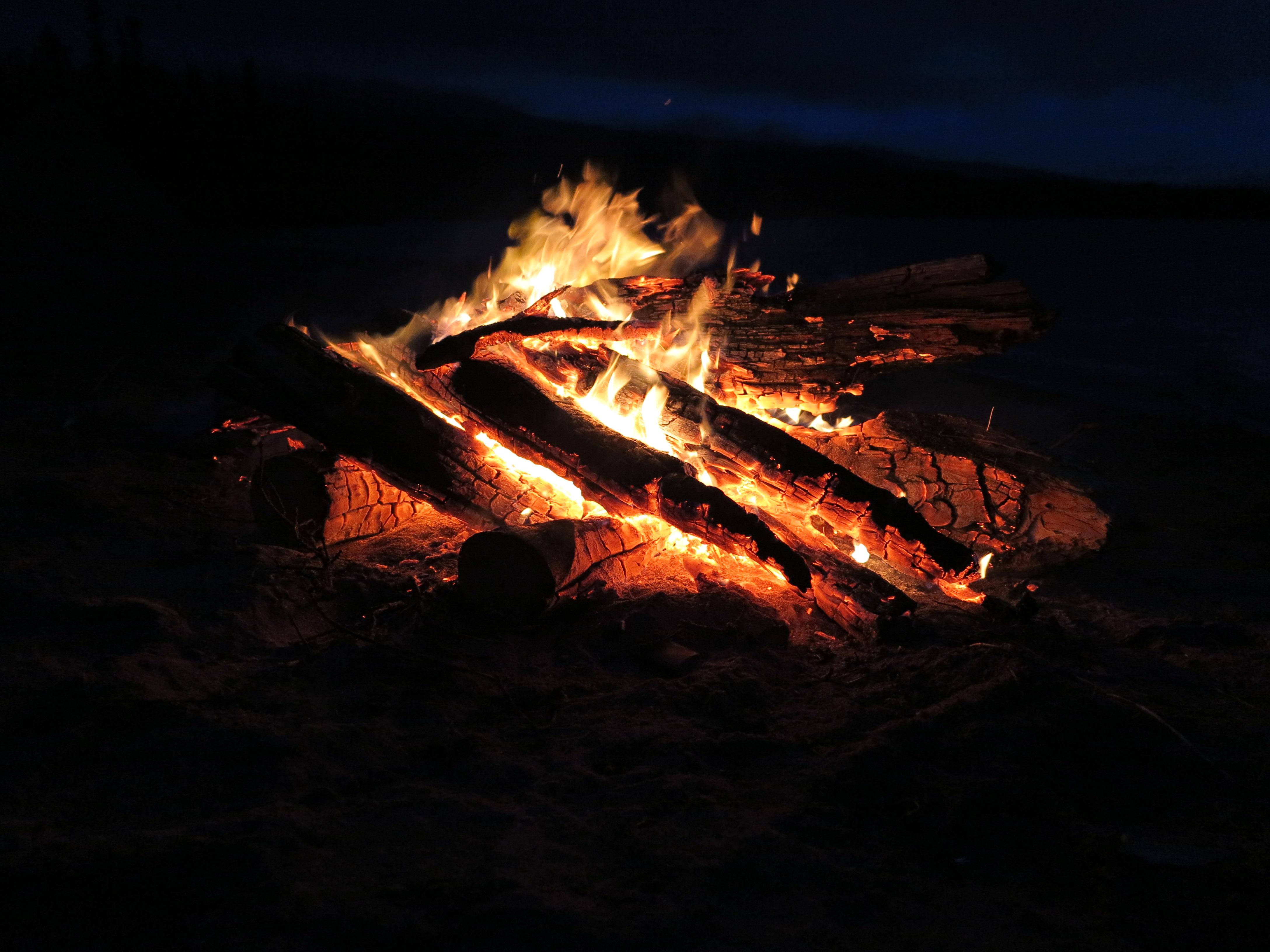 Kveld i Yukon