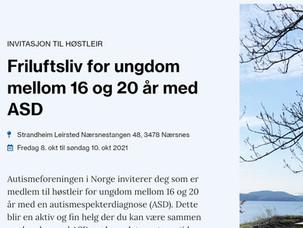 Himmeljegerne arrangerer høstleir for Autismeforeningen