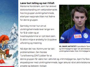 Vår nyeste ide/konsept i dagens Dagbladet