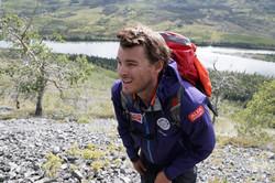 Lars Martin på fjelltur