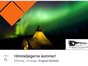 Foredrag i Kragerø bibliotek - 11.juli - 18.00 - Gratis inngang