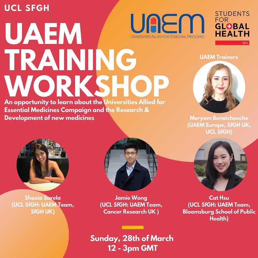 Access to Medicines Training Workshop (UAEM x SfGH)