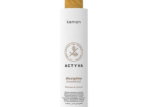 Frizzy Hair Kemon Actyva Disciplina Shampoo 250 ml
