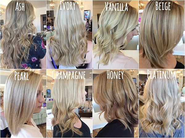 Blonde Hair Colors Types
