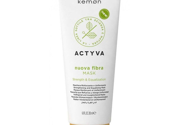 Strengthening Kemon Actyva Nuova Fibra Mask 200 ml
