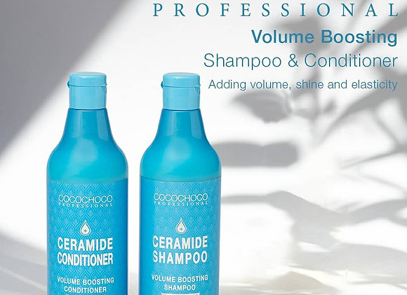 Cocochoco Ceramide Sulphate Free Volumizing Shampoo 500 ml & Conditioner 500 ml