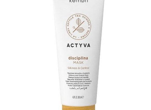 Frizzy Hair Kemon Actyva Disciplina Mask 200 ml