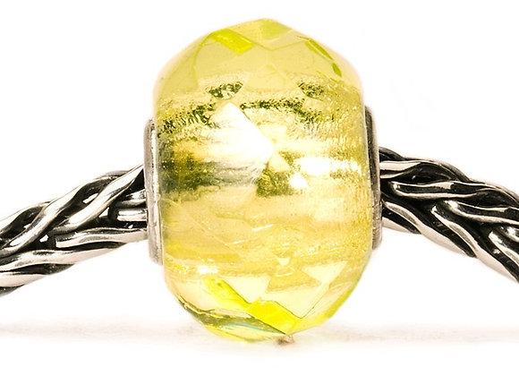 Trollbeads Lime Prism Bead