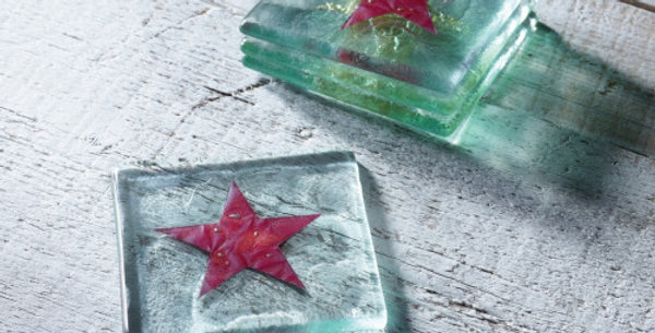 Jo Downs Christmas Star Coaster