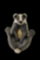 PH002-Pippa-Hill-Badger-legs-up-scratchi