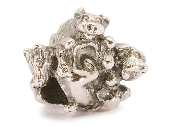 Trollbeads Family Of Puppies Bead TAGBE-30026