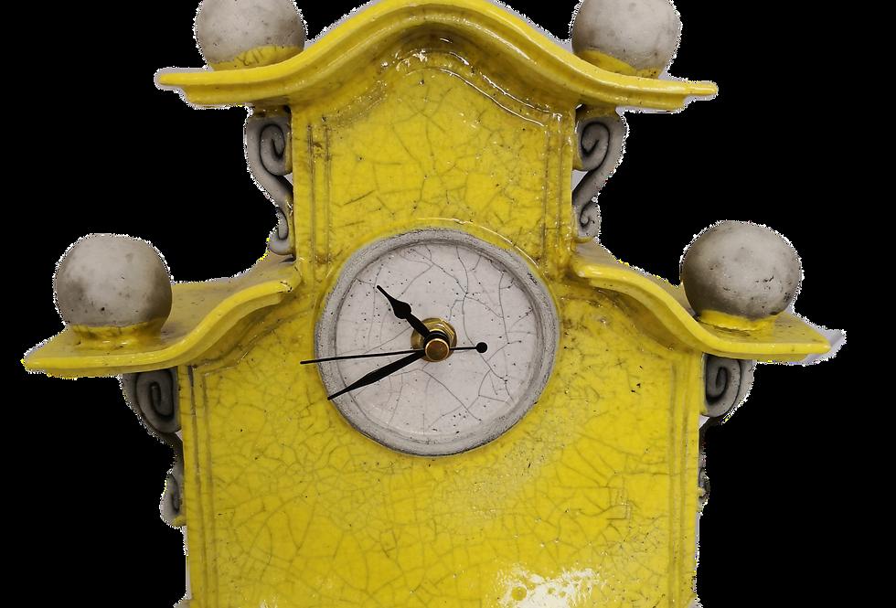 Stonesplitter Sunshine Yellow Clock