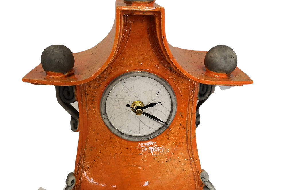 Stonesplitter Orange Clock