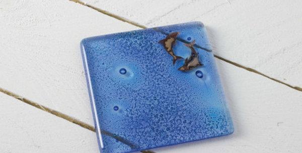 Jo Downs Samphire Dolphin Coaster