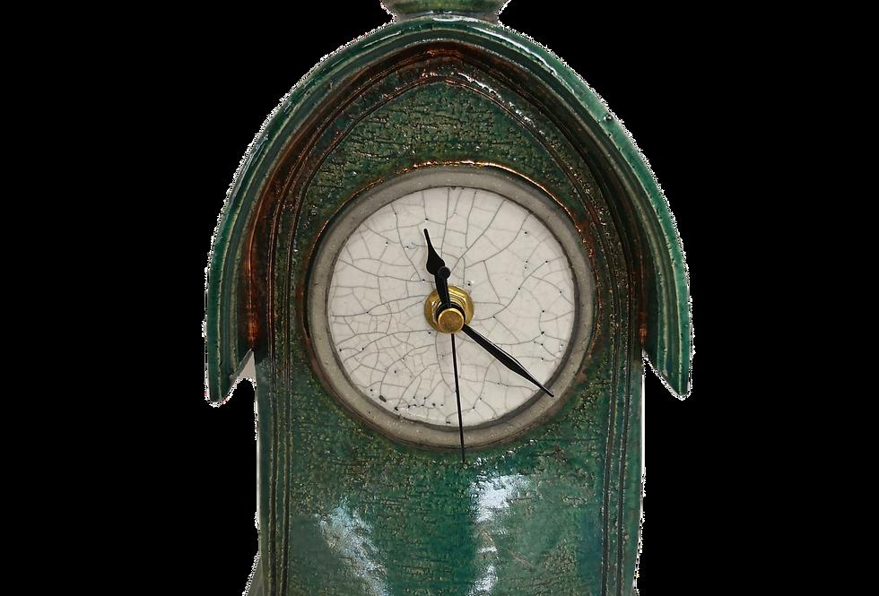 Stonesplitter Fern Green Clock
