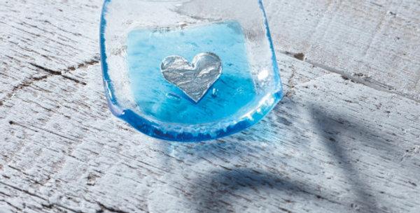 Jo Downs - Turquoise Heart Earring Dish
