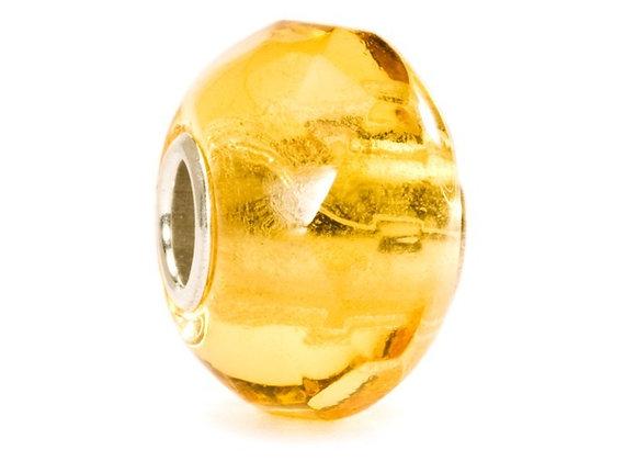 Trollbeads Yellow Prism Bead