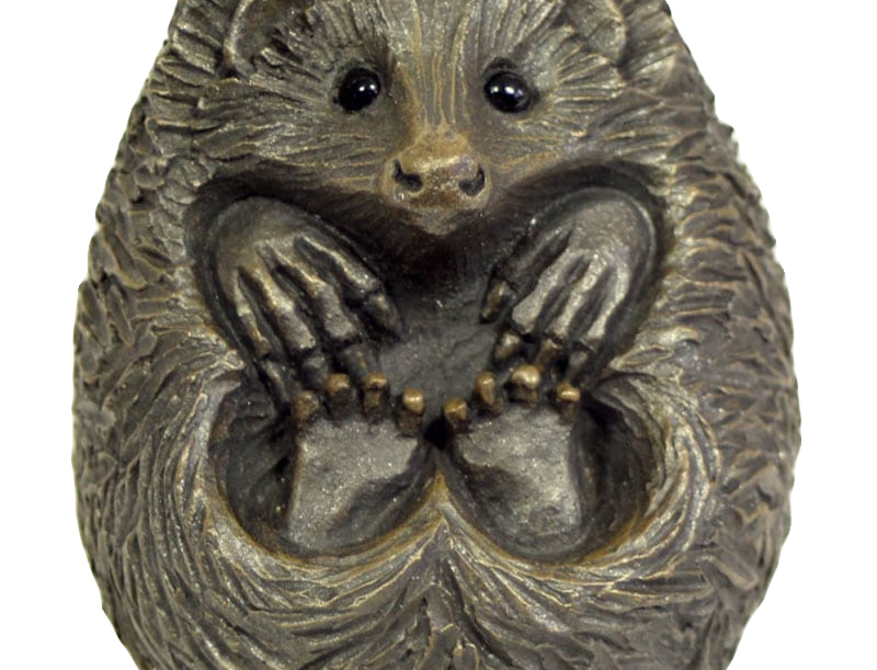 Pippa Hill - Small Curled Hedgehog