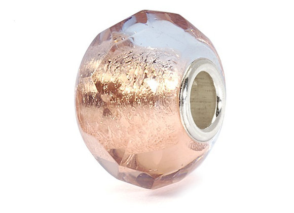 Trollbeads Pink Prism Bead