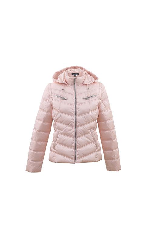 Pale pink jacket/gilet