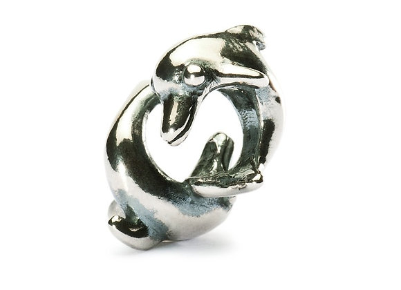 Trollbeads Playing Dolphins Bead TAGBE-10022