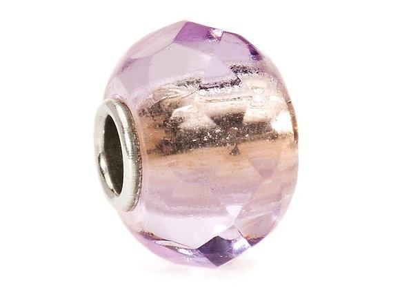 Trollbeads Lavender Prism Bead