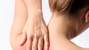Is it a good idea to massage or press the pain area on your shoulder or neck?