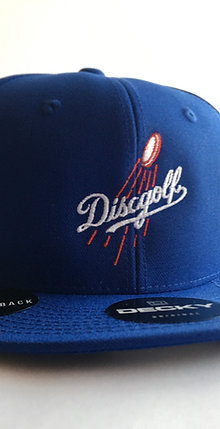 LOS ANGELES DODGERS STYLE HOMAGE DISC GOLF HAT