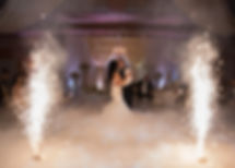 Ottawa indoor Fireworks For wedding Slow