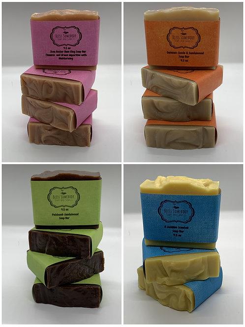 Soap Bundle ( 4 soaps for 20)