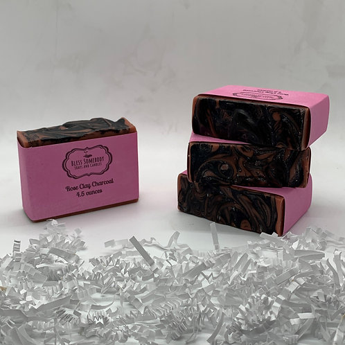 Rose Clay with Activated Charcoal