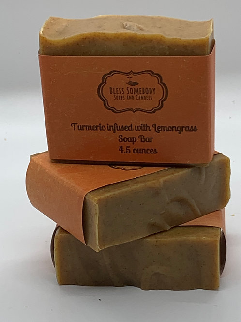 Turmeric Infused Lemongrass Essential Oil