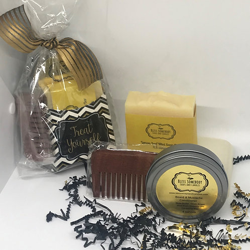 Beard Conditioner Kit include 1 soap bar
