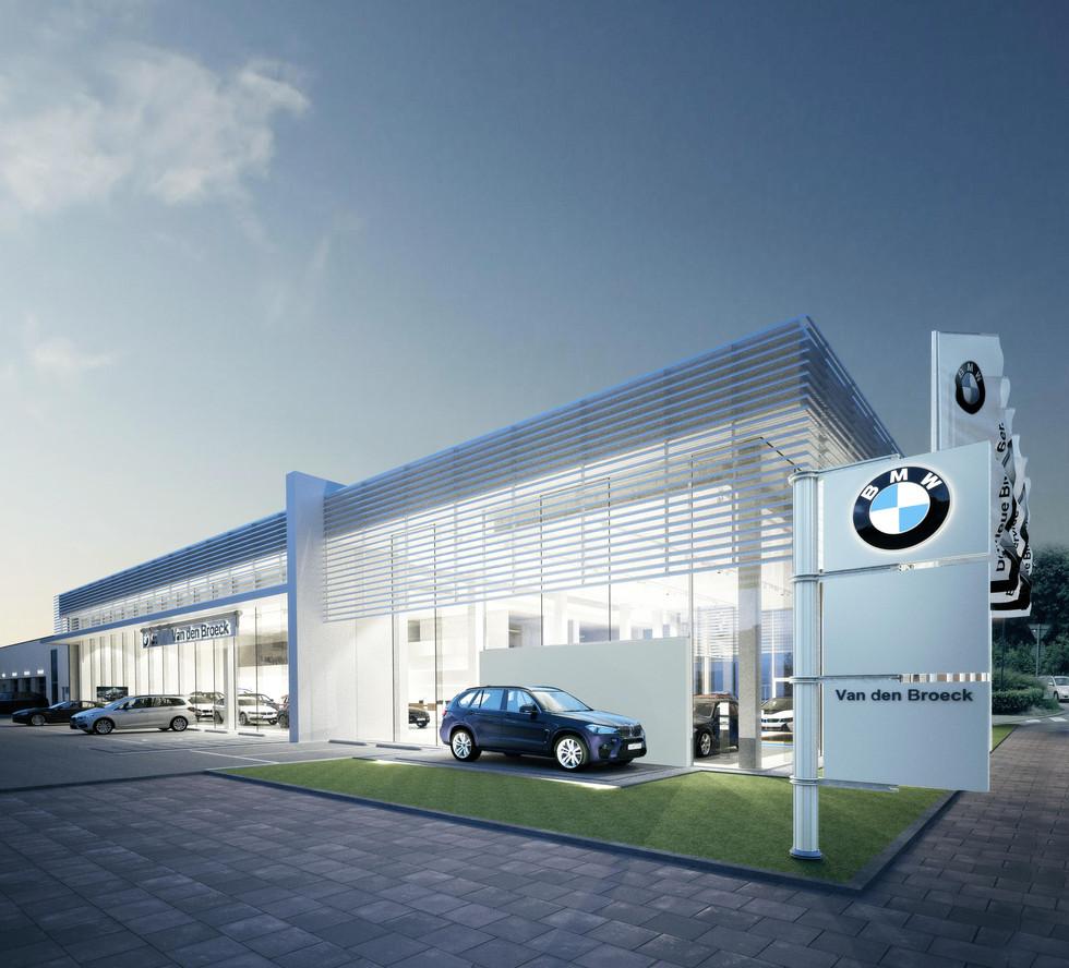 Mamu Architecten - automotive Van Den Broeck BMW garage