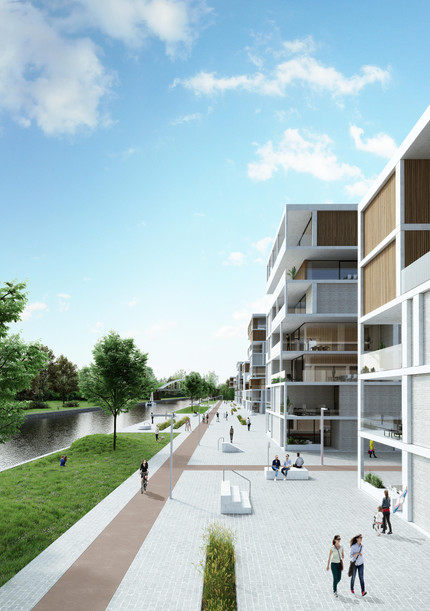Mamu Architecten - development waterfront