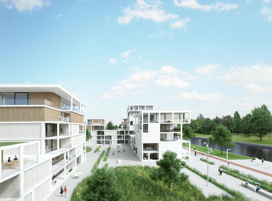 Mamu Architecten - development waterfront