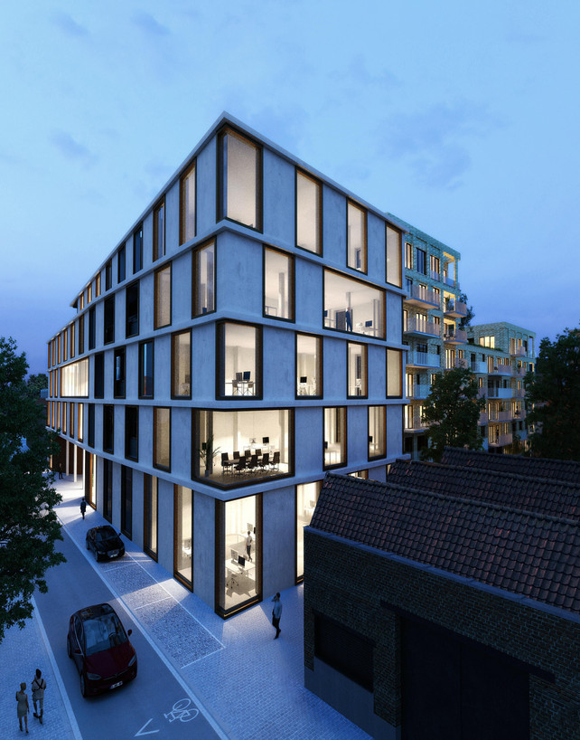 CAAN Architecten - real estate Lafaut Invest