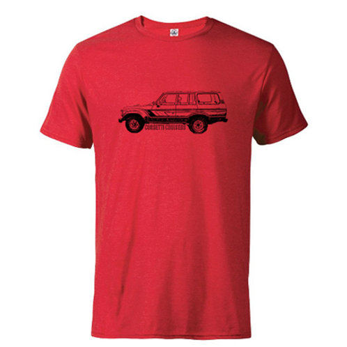 Fitted FJ62 Toyota Land Cruiser T-Shirt