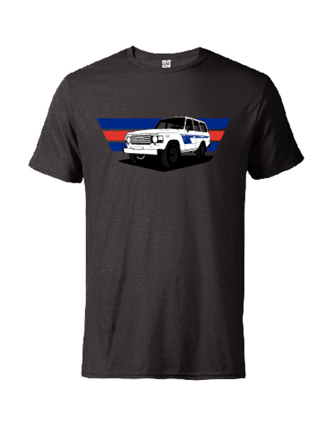 Fitted FJ60 Toyota Land Cruiser T-Shirt