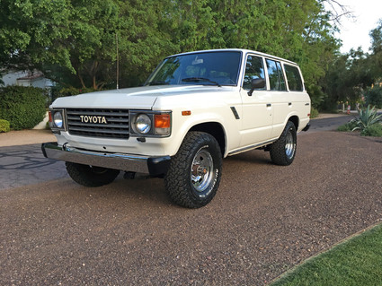 World meet Sally the whore. After working the LA streets for 163,000 miles, she finally retired in Scottsdale AZ. She loves her Christian Louboutin pumps and her brand new soft paint job, but really enjoys flirting with the other 19 Land Cruisers in her new garage.  #Toyota #LandCruiser #FJ60 #Fj62 #4x4 #BFGoodrich #Original #Factory #CorsettiCruisersWorld meet Sally the whore. After working the LA streets for 163,000 miles, she finally retired in Scottsdale AZ. She loves her Christian Louboutin pumps and her brand new soft paint job, but really enjoys flirting with the other 19 Land Cruisers in her new garage.  #Toyota #LandCruiser #FJ60 #Fj62 #4x4 #BFGoodrich #Original #Factory #CorsettiCruisers