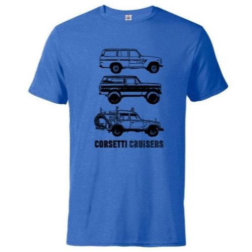Three Corsetti Cruiser Trucks