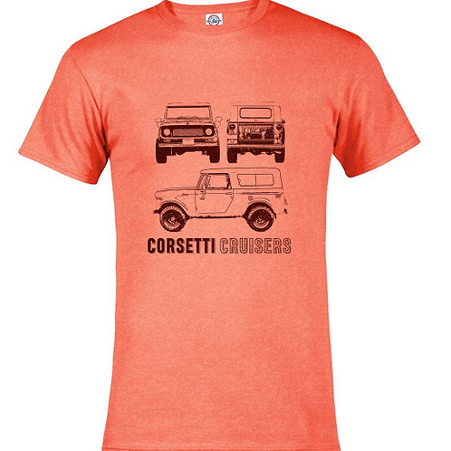 Fitted 1968 International Scout 800a T-Shirt
