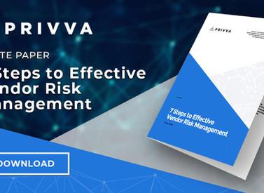 7 Steps to Effective Vendor Risk Management