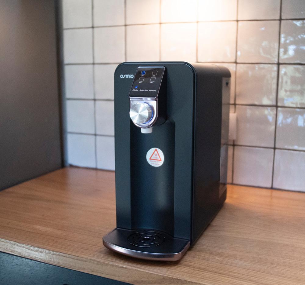 Osmio Zero in Kitchen (Black)