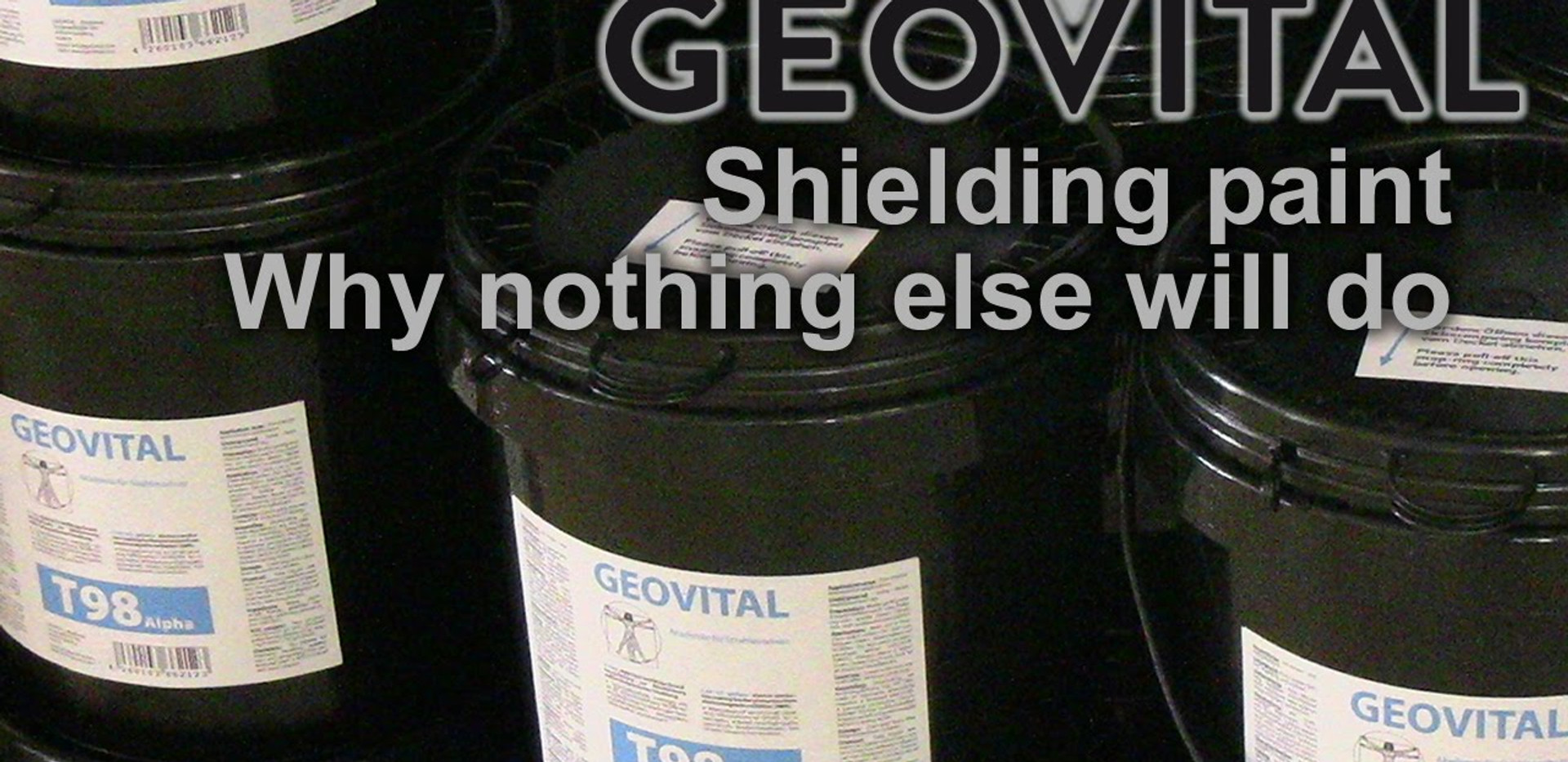 Why is T98Alpha the only shielding paint worthwhile?