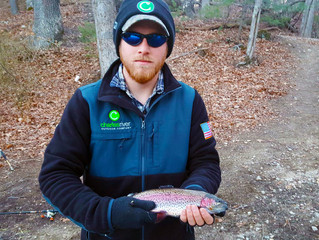 Spring Trout fishing off to a great start.