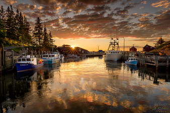 HALL'S HARBOUR SUNSET