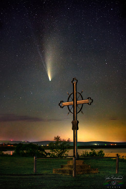 COMET NEOWISE OVER L'ACADIE