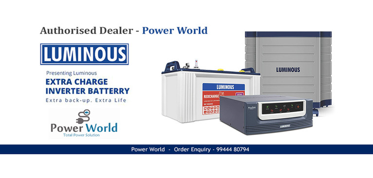 power Wold - Luminous Ups In coimbatore